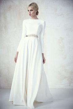 Vestido novia informal