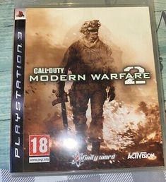 Call Of Duty Modern Warfare 2 PlayStation 3 PS3 Rated 18