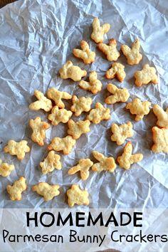 Homemade Bunny Crackers