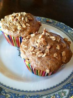 Banana Crunch Muffins - Kid Kritics Approved made with @Arlene Williamson Granola and @Cabot Cheese Cabot Greek-sytle Yogurt