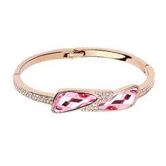 Masni rózsaszínben karkötő I Swarovski Elements I FEMINASHOP.HU