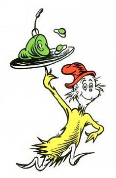 Green Eggs and Ham   Dr. Seuss. Dr. Seuss, Dr Seuss Art, Dr Seuss Week, Dr Seuss Clipart, Dr Seuss Illustration, Dr Seuss Shirts, Dr Seuss Birthday, Happy Birthday, Green Eggs And Ham