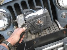 Jeep Winch Warn 8274 Winch Photo 9186757