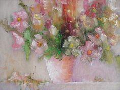 цветочный - Изобразительное искусство - Масло, акрил