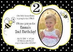 Free free template bumble bee birthday party invitations baby bumble bee birthday party collection birthday party ideas filmwisefo