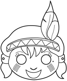 Theme Carnaval, Felt Mask, Printable Numbers, Hobby Horse, Crochet Cross, Easy Crafts For Kids, Free Coloring Pages, Easter Crafts, Mardi Gras