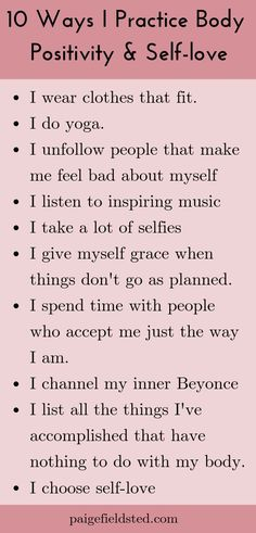 10 Ways I Practice Body Positivity and Self-love - Body Love Love My Body, Loving Your Body, Body Positive Quotes, Positive Body Image, Love Amor, Learning To Love Yourself, How To Love Yourself, Body Confidence, Learn To Love