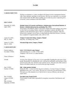 cover letters examples resume sample simple de9e2a60f the simple format of resume 1559