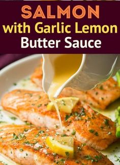Skillet Seared Salmon with Garlic Lemon Sauce Recipe There are many weight lose diets out there that use fish as a main meat. Fish can be really healthy to you in minor quantities. Just 6oz steak portions of a white fish or salmon can provide you with a lot. Skillet Seared Salmon with Garlic Lemon … Continue reading »