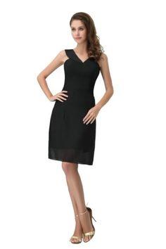 Honeystore Women's Chiffon and Satin V Neck Column Mini Party Dresses Size US2/UK6/EUR32 Color Black Honeystore,http://www.amazon.com/dp/B00DQ4X19Y/ref=cm_sw_r_pi_dp_KtAesb1R17NRSY7W