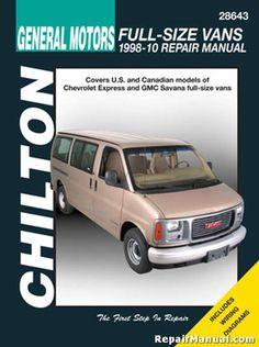 1984 1996 chevrolet parts and illustration catalog scr1 repair chevrolet express gmc savana full size van repair manual 1998 2010 total car fandeluxe Image collections