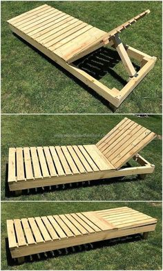 Below we are going to present a simple but classic rehashed wood pallet sun lounger for our recreational healthy activity. The good thing about our projects is that we don't make it complex so that you could craft it at your own workshop with ease and comfort. This wonderful wood pallet sun lounger serves you the right purpose.