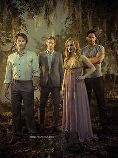 true blood Eric Northman, True Blood Alcide, Blood Photos, True Blood Series, Vampire Love, Joe Manganiello, Sang, Paranormal Romance, Hbo Series