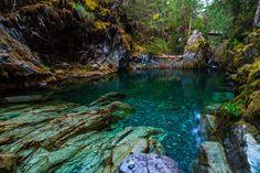 Opal Pool   Opal Creek Wilderness   Oregon