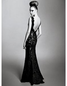 I'm obsessed with backless gowns. There is nothing  as classy sexy dress wise, nothing!