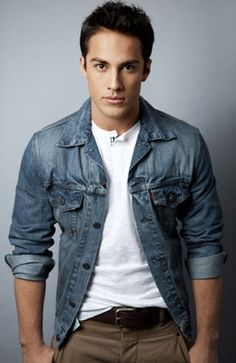 Michael Trevino  ...I repinned this for the jacket. Haha