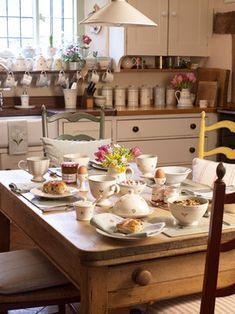 Kitchen Living - country - Spaces - West Midlands - Susie Watson Designs