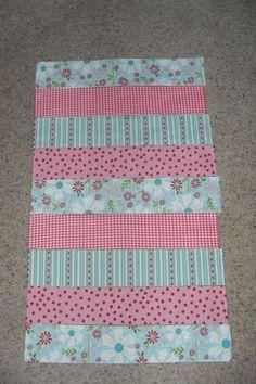 Sumo's Sweet Stuff: .:Tutorial Tuesday - Strip Baby Blanket:.