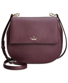 31dd2d4deaaa Kate Spade New York Cameron Street Byrdie Saddle Crossbody - Brown Kate  Spade Purse
