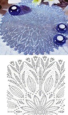 This Pin was discovered by Barbara Szwedo. Discover (and save!) your own Pins on… – Gabriele horn - Crochet Filet Crochet, Crochet Doily Diagram, Thread Crochet, Diy Crafts Crochet, Crochet Home, Crochet Projects, Crochet Amigurumi Free Patterns, Crochet Doily Patterns, Crochet Tablecloth Pattern