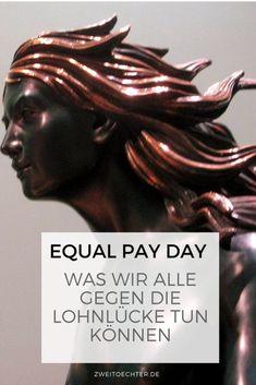 Es ist wieder Equal Pay Day. Der symbolische Tag, bis zu dem eine Frau umsonst arbeitet, während ein Mann in der gleichen Position seit dem 1. Januar für seine Arbeit bezahlt wird. Denn Frauen verdienen in Deutschland im Durchschnitt 21 Prozent weniger als ihre männlichen Kollegen. Weil das eine unhaltbare Situation ist, habe ich einige Vorschläge, wie wir alle etwas gegen die Lohnlücke tun können. #equalpayday #genderpaygap #100minutes - zweitöchter Equal Pay, Working Moms, Day, Life, News, Female Leaders, Two Daughters, Child Development, Family History
