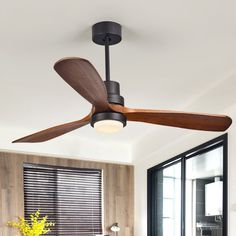 Sove Wooden Ceiling Fans Without Light Bedroom Ceiling Fan Wood Ceiling Fans With Lights Remote Control Ventilador De Teto Ceiling Fan In Kitchen, Living Room Ceiling Fan, 52 Ceiling Fan, Ceiling Fan With Remote, Ceiling Decor, Ceiling Lights, Black Ceiling Fan, Ceiling Ideas, Bedroom Ceiling Fans