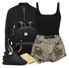 """V.XV.MMXVI"" by justice-ellis ❤ liked on Polyvore featuring Topshop, Orlebar Brown, Goldgenie, Frends and adidas"