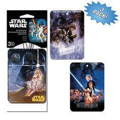 Star Wars 3 Pack Air Freshener