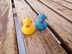 Bath Duck Earrings   #dangledrop #hook #kawaii #cute #summer #vintage #retro #popart #jewelry #earrings #bathduck