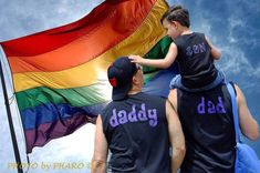 Two dad pride! #gay #dads #LGBT