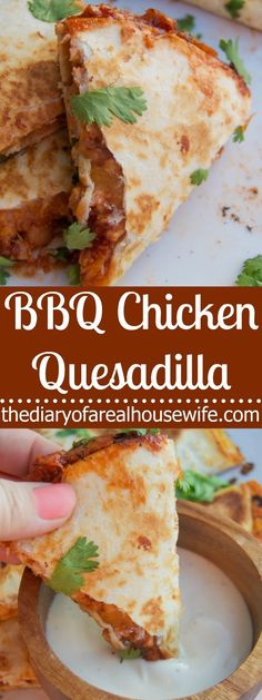 I love trying new flavors on classic recipes and this BBQ Chicken Quesadilla is one of my favorites. Filled with your favorite BBQ sauce, chicken, onion, and my favorite, cilantro!