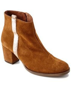 """Eric Michael """"Napoli"""" Suede Bootie is on Rue. Shop it now."""