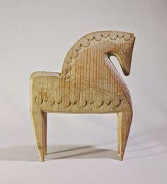 Wooden Horse, Homemade Toys, Primitive Folk Art, Horse Art, Art Object, Wood Carving, Ceramic Art, Wood Art, Wood Crafts