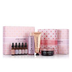 """Josie Maran """"Be Giving"""" aromatherapy set in Vanilla Fig creams, wash, and scented Argan oils. Yum :) I bought 2 of these sets!! Vanilla Fig smells delicious!!!"""