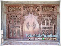 Pintu Gebyok Jawa Ukiran Tatah - http://www.tokoindofurniture.com/pintu-gebyok-jawa-ukiran-tatah.html