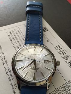 """I want to buy a new Seiko watch soon after loving my Seiko 017 so whats a better buy- a Seiko """"Grand-Cocktail"""" or a """"Coc - corum watches, best watches for men, large face watches for men *ad Best Watches For Men, Luxury Watches For Men, Stylish Watches, Cool Watches, Breitling, Cartier, Seiko Dress Watch, Seiko Mechanical Watch, Seiko Presage"""