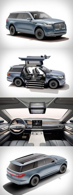 Lincoln Navigator-Konzept – Mark Vehec – Join in the world Ferrari, Maserati, Bugatti, Lincoln Continental, Lincoln Navigator, Ford Lincoln Mercury, Luxury Suv, Amazing Cars, Concept Cars