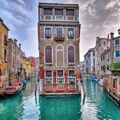 Venice - just imagine this being your home.. how very cool is that!