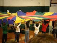 Need a Little Christmas parachute routine Kindergarten Music, Preschool Music, Teaching Music, Music Education Activities, Movement Activities, Listening Activities, Physical Education, Music Lesson Plans, Music Lessons