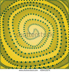 Abstract spiral chaotic and at the same time harmonious pattern. Gradient background wallpaper.