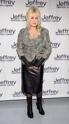 Cyndi Lauper At The Jeffrey Fashion Cares 10th Anniversary Celebration at #TheIntrepid NYC on April 2, 2013 http://celebhotspots.com/hotspot/?hotspotid=5564&next=1