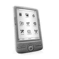 """Ebook tinta electronica 4,5"""" 4 gb de memoria, antirreflejante con 1500 libros cargados 74,99€ gastos de envío incluidos. Pincha en la imágen para ver más especificaciones."""