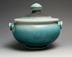 Handcrafted porcelain tureen or casserole serving dish 1.5 quart 1518 on Etsy, $64.00