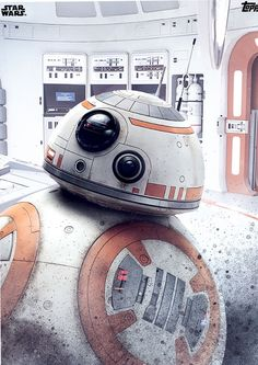 BB-8 in the Last Jedi