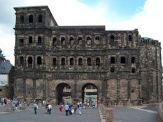 Trier, Germany.  The oldest city in what used to be West Germany, it was founded by the Romans and has a lot of Roman architecture.