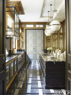 Inside a Princess's Incredible Paris Home via @MyDomaine   Photo: Simon Upton for ELLE Decor