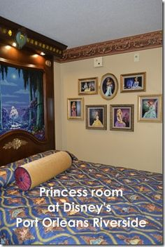 Would you stay in a Princess room at #Disney's Port Orleans Riverside Resort.