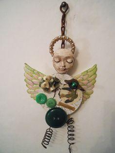primitive primitive art earthy art doll primitive by artysangels,