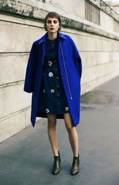 dream statement coat with a dress to match