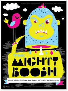 The Mighty Boosh - posters - work - tad carpenter